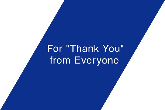 "For ""Thank You"" from Everyone"